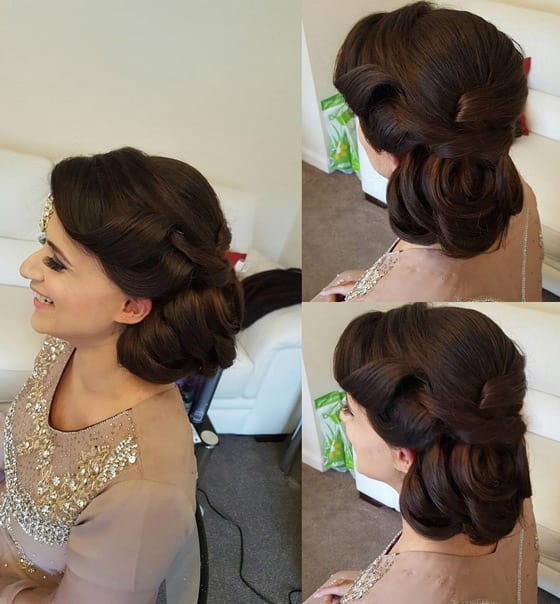 5 Beautiful Wedding Updos Inspired By India