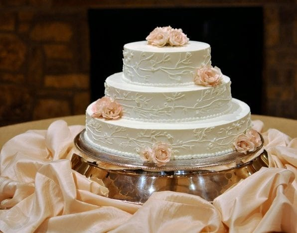 This Rosé Champagne Cake Is The Perfect Addition To Wedding Festivities