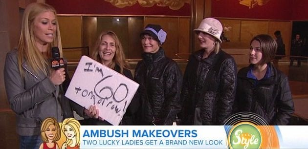 Celebrity look alike makeover show a