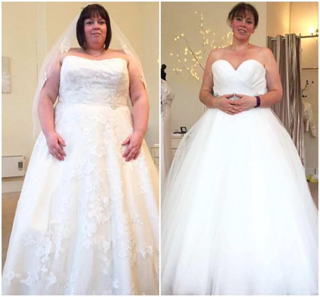 Wedding Weight Lose.Bride S Dramatic Weight Loss To Fit Into Dream Wedding Dress Is