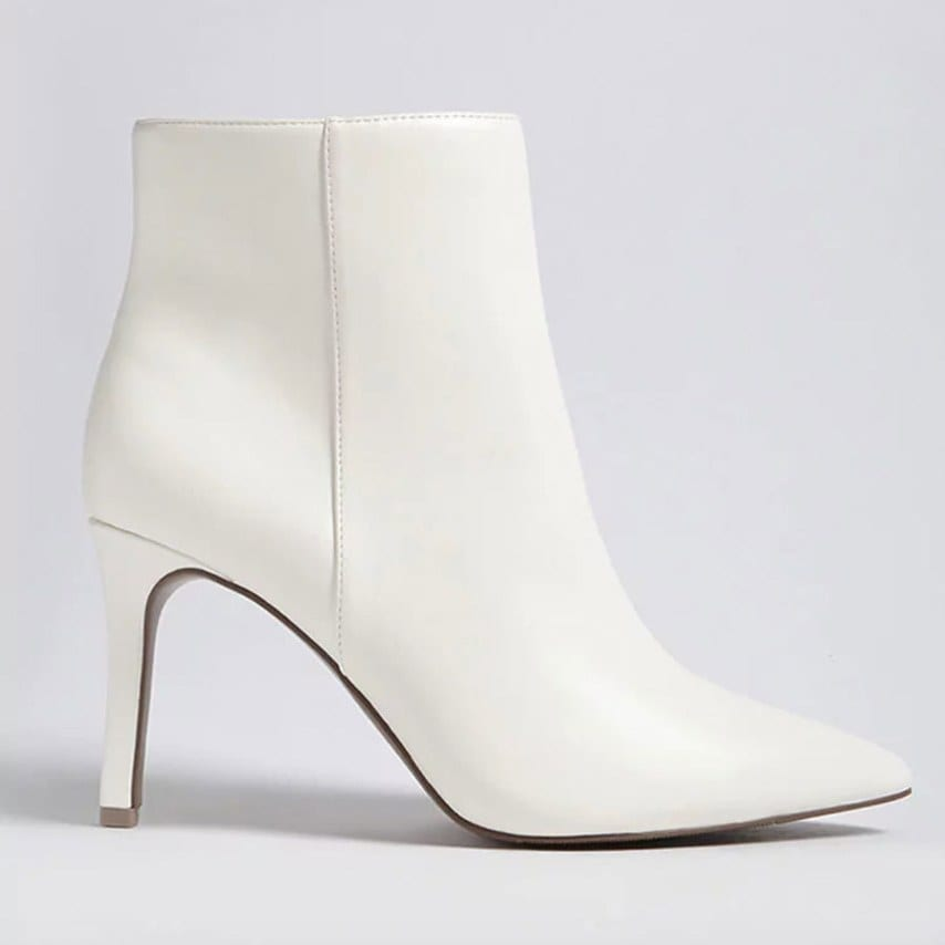 Faux-Leather-Stiletto-Ankle-Boots-(Wide),-$27.90,-Forever-21