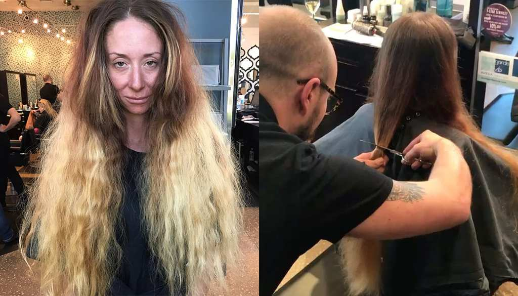 Bride Who Didn T Have Haircut For Years Gets Incredible