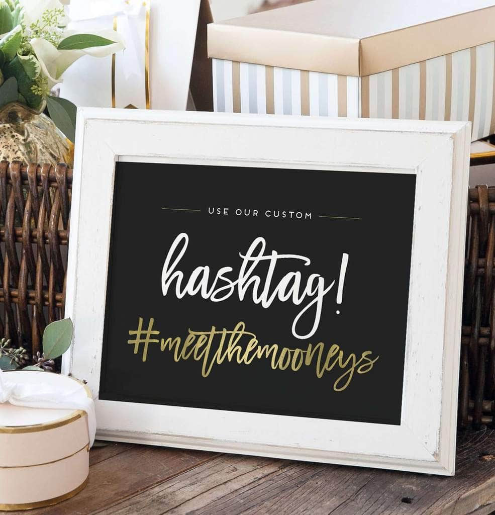 Wedding Hashtag Puns.How To Create The Most Awesome Hashtag For Your Wedding