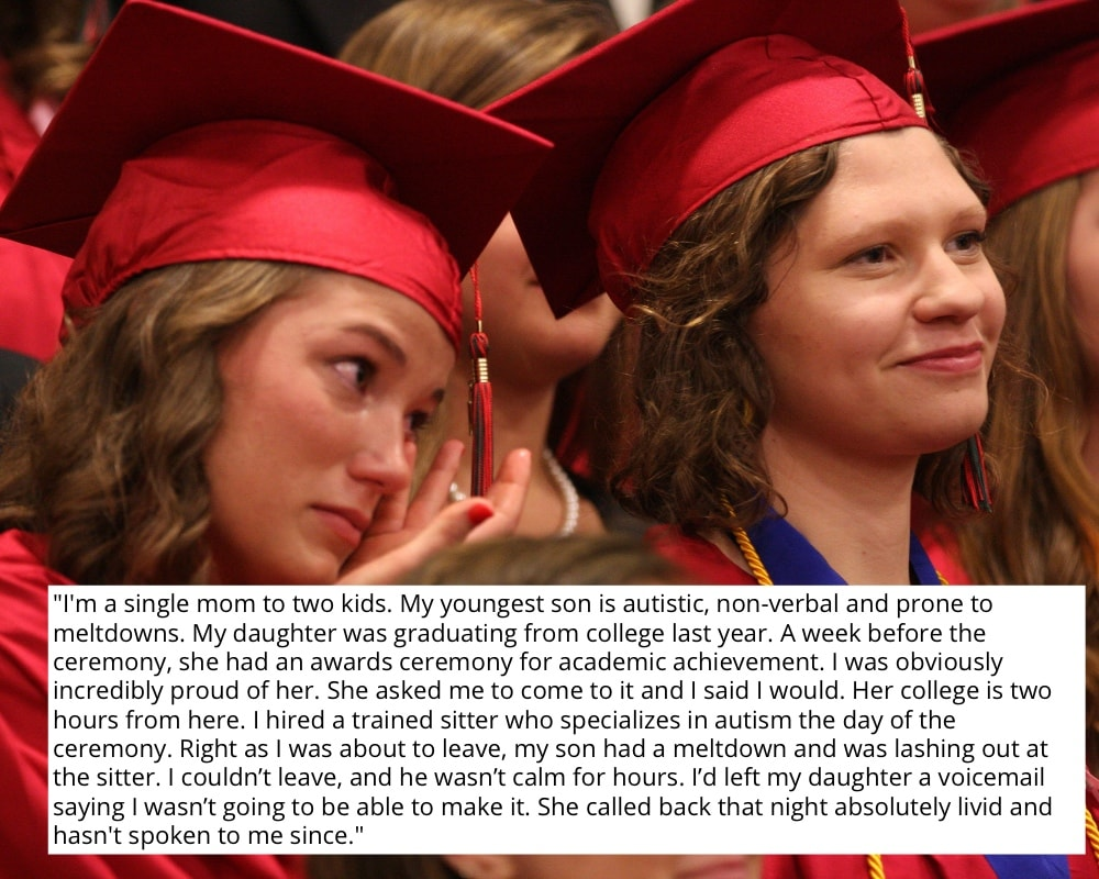 Graduation Mom Guilt