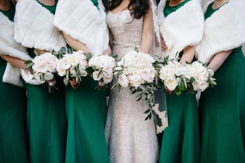 the Most Stunning Bridal Shawls for 2020