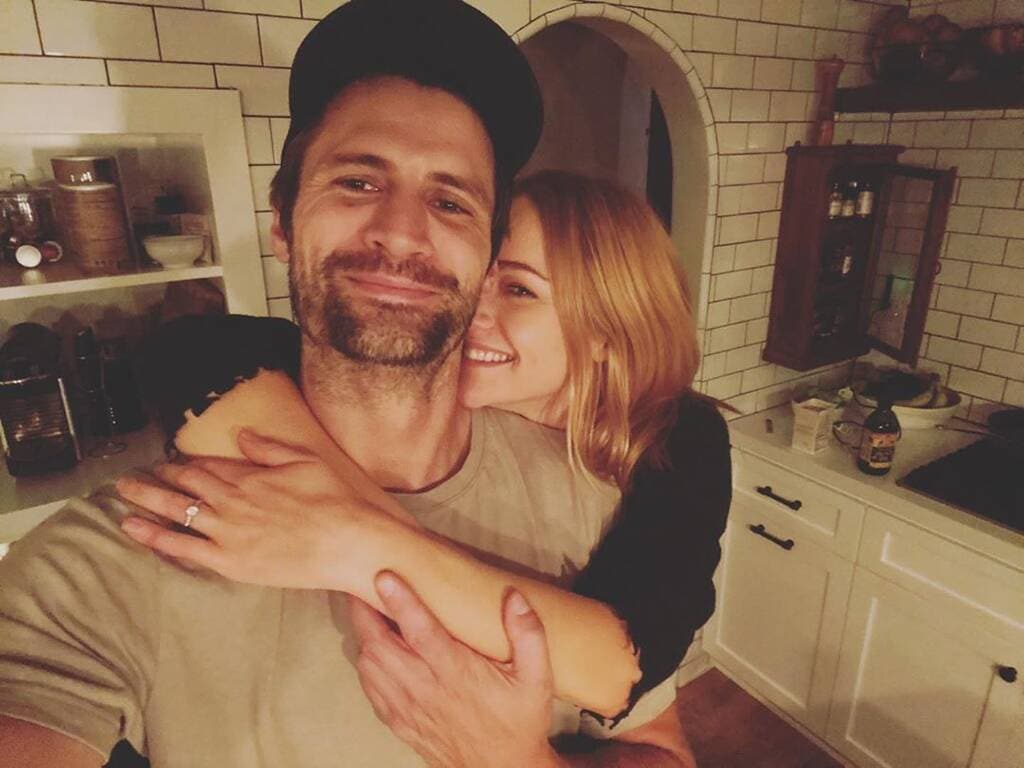 James Lafferty & Alexandra Park