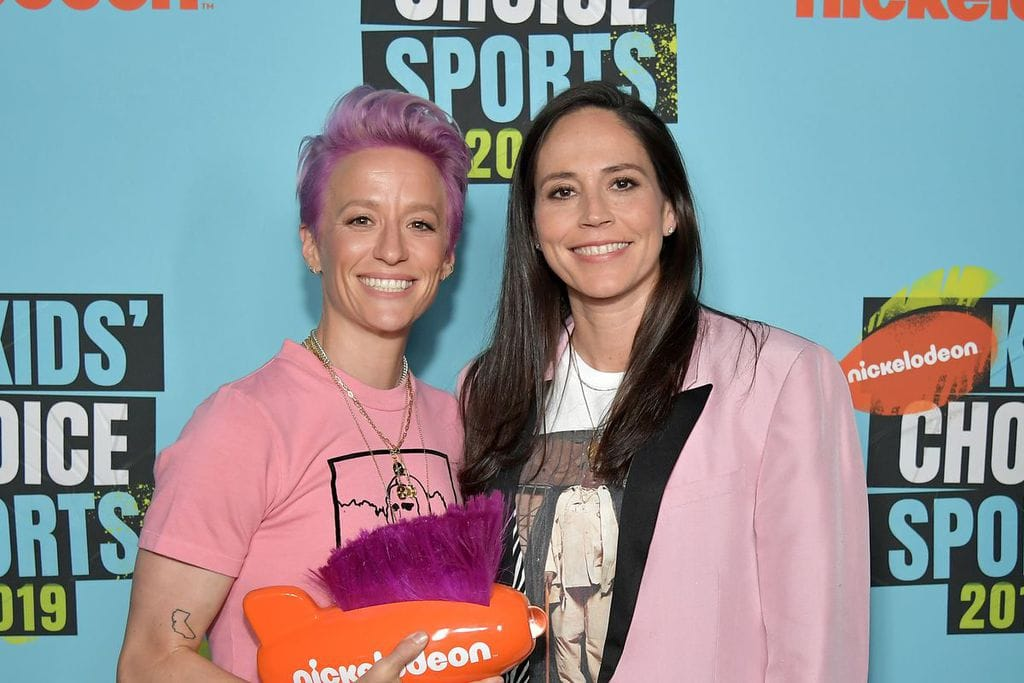 Megan Rapinoe & Sue Bird