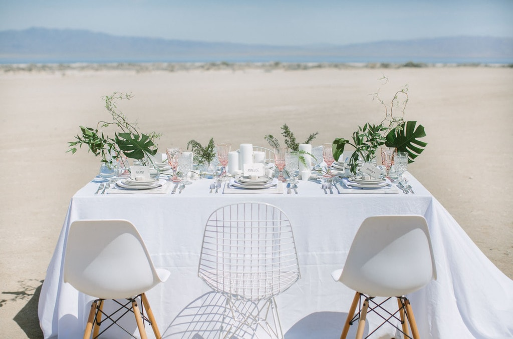 small wedding on the beach
