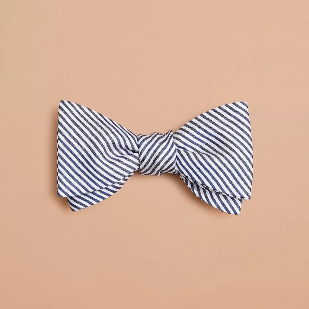 Brooks Brothers Alternating Stripe Bow Tie