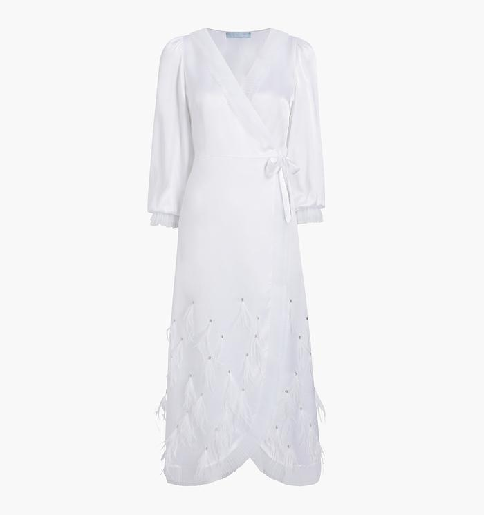 The Dolly robe (in white)